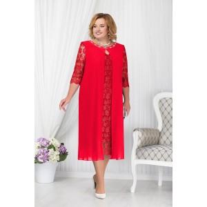 NINELE 7204 Платье (красный)
