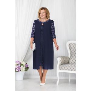 NINELE 7204 Платье (синий)