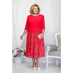 NINELE 7205 Платье (красный)