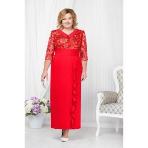 NINELE 7206 Платье (красный)