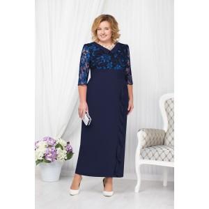 NINELE 7206 Платье (синий)