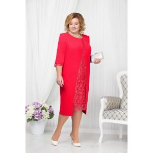 NINELE 7208 Платье (красный)