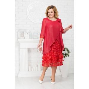 NINELE 7210 Платье (красный)