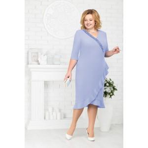 NINELE 7211 Платье (голубой)