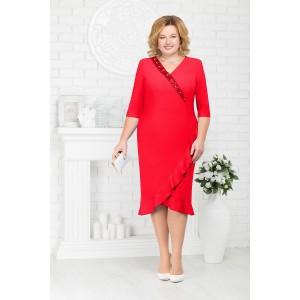 NINELE 7211 Платье (красный)