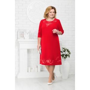 NINELE 7212 Платье (красный)