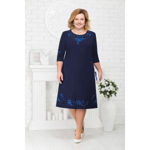 NINELE 7212 Платье (синий)