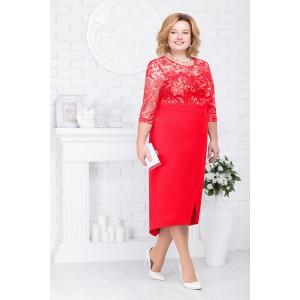 NINELE 7214 Платье (красный)
