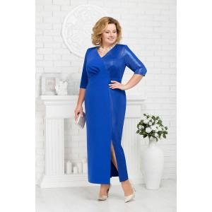 NINELE 7216 Платье (василек)