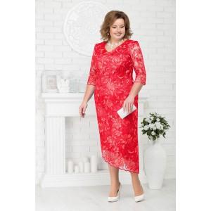 NINELE 7218 Платье (красный)