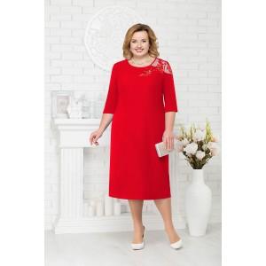 NINELE 7222 Платье (красный)