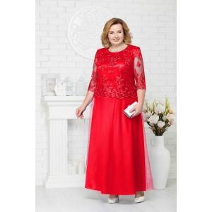 NINELE 7223 Платье (красный)