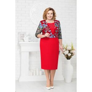 NINELE 7224 Платье (красный)