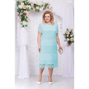 NINELE 7229 Платье (мята)