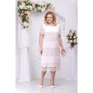 NINELE 7229 Платье (пудра)