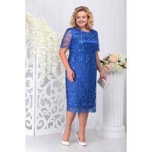 NINELE 7231 Платье (василек)
