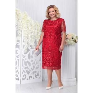 NINELE 7231 Платье (красный)