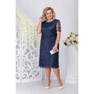 NINELE 7231 Платье (синий)