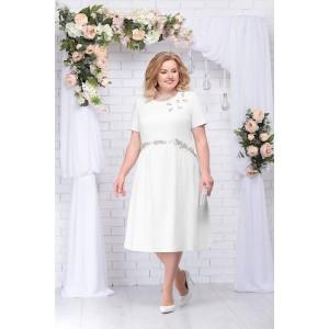 NINELE 7232 Платье (белый)