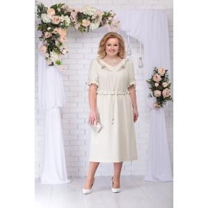 NINELE 7234 Платье (бежевый)