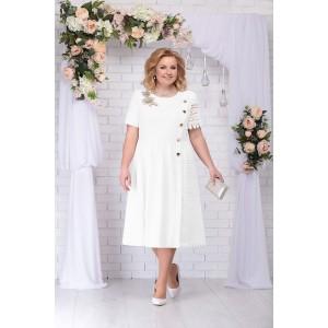 NINELE 7235 Платье (белый)