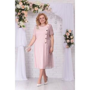NINELE 7235 Платье (пудра)
