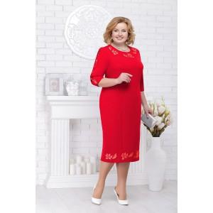 NINELE 7236 Платье (красный)