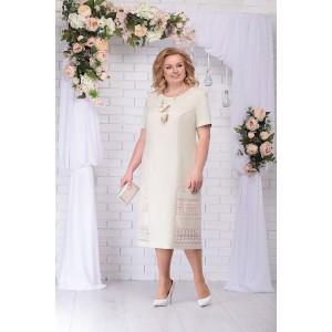 NINELE 7237 Платье (бежевый)