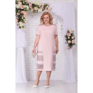 NINELE 7237 Платье (пудра)