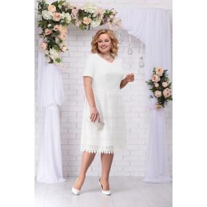 NINELE 7238 Платье (белый)