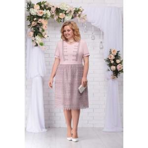 NINELE 7238 Платье (пудра)