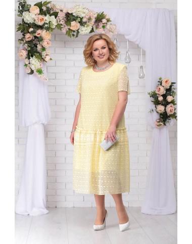 NINELE 7241 Платье (желтый)