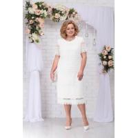 NINELE 7243 Платье (белый)