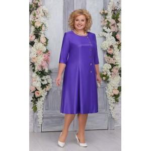 NINELE 7255 Платье (фиолетовый)