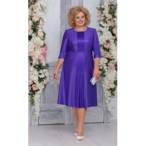 NINELE 7256 Платье (фиолетовый)