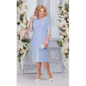 NINELE 7259 Платье (голубой)