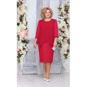 NINELE 7260 Платье (красный)