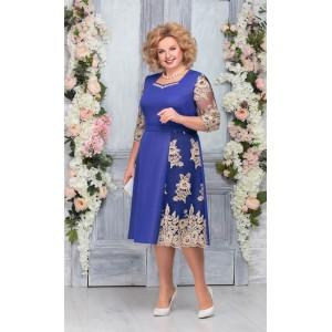 NINELE 7261 Платье (василек)