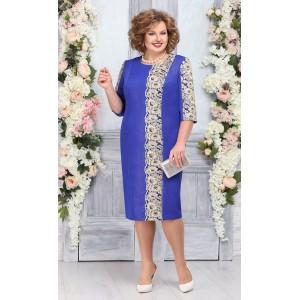 NINELE 7266 Платье (василек)