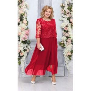 NINELE 7268 Платье (красный)