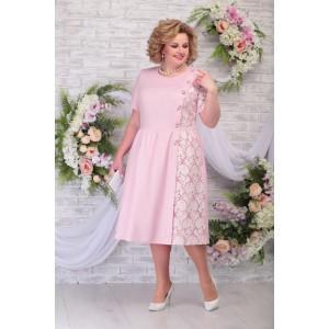 NINELE 7285 Платье (пудра)