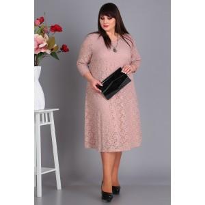 NOVELLA-SHARM А3378 Платье (бежевый)