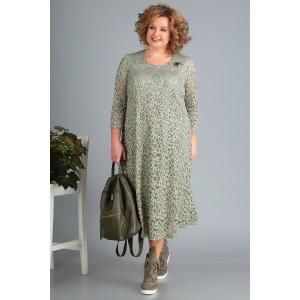 NOVELLA-SHARM А3378 Платье (оливка)