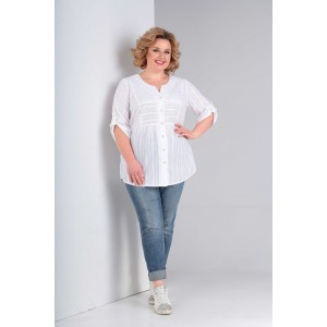 ORHIDEYA LUX 1014 Блуза (белый)