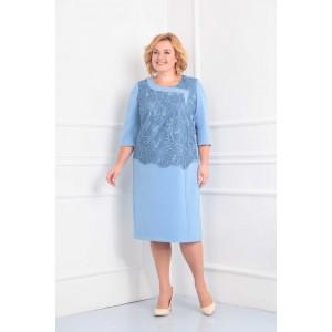 ORHIDEYA LUX 810 Платье (голубой)