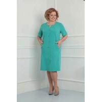 ORHIDEYA LUX 840 Платье  (бирюза)