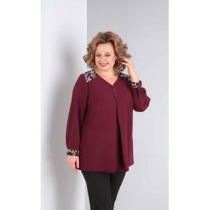 ORHIDEYA LUX 997 Блуза (бордо)
