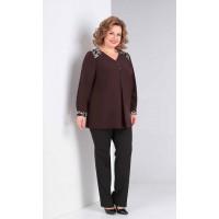 ORHIDEYA LUX 997 Блуза (коричневый)