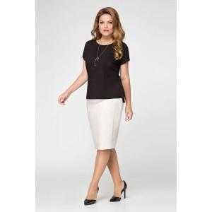 PANDA 392843 Блуза черный