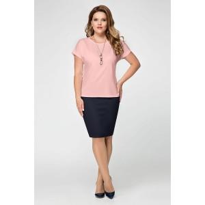 PANDA 392843 Блуза розовый